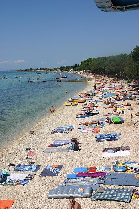 camp pag beach